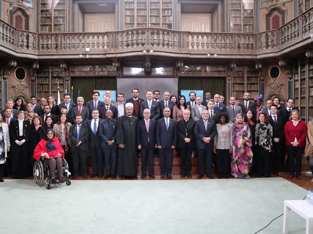Msgr. Obiora Ike attends the First Meeting of the General Assembly of the Global Council for Tolerance and Peace (GCTP)